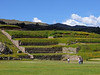 Terraced fields in another section of the ruins.