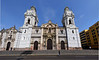 Our return was via Lima and a Nat Hab guide took us on a tour of the city.  This is the imposing Cathedral of Lima seen in a close panorama.