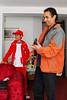 Sebas Rojas Carrillo & Carlos 'Chemo' Rojas Santander en la casa de Sra. Rosalvina Santander, abuela & madre de los chocheras.