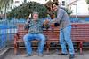¡Salud! Erick Rojas Santander y yo tomando una chela en la plaza de armas de Zurite, Cusco, Perú - Sábado 13 de agosto de 2.011<br /> <br /> Santé, samen met Erick Rojas Santander een pintje drinkend op de plaza de armas van Zurite, Cusco, Peru - Zaterdag 13 augustus 2011
