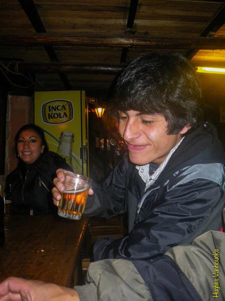 Yaneth Carrillo & Alejandro Rojas Dueñas @ La Carreta - C/. Heladeros - Cusco - Peru