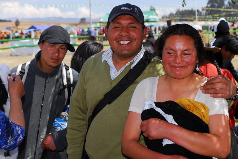 Erasma Cusihuaman Cusihuaman & Rodolfo Cusihuaman - Feria Agropecuaria & Artesanal - Chinchero - Cusco - Perú