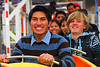 Orlando Kjuiro Cusihuaman & Yngwie Vanhoucke en el ratón loco - Juegos Mecánicos - Santa Ursula - Cusco - Perú<br /> <br /> Orlando, Yngwie and Maruja on the caterpillar - Santa Ursula fairground - Santa Ursula - Cusco - Peru<br /> <br /> Orlando, Yngwie & Maruja op de rups - Santa Ursula Kermis - Santa Ursula - Cusco - Peru<br /> <br /> Orlando, Yngwie & Maruja dans la chenille - Kermesse de Santa Ursula Kermis - Santa Ursula - Cusco - Pérou