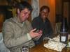 El recién llegado Albito Alonso & su cuñado Erick Rojas Santander @ La Carreta - C/. Heladeros - Cusco - Peru