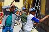 Erick Rojas Santander & pintores alistando el templo para un matrimonio - Plaza de Armas - Calca - Valle Sagrado de los Incas - Cusco - Perú<br /> <br /> Erick Rojas Santander & painters are refreshing the church for the upcoming wedding - Plaza de Armas - Calca - Valle Sagrado de los Incas - Cusco - Peru<br /> <br /> Erick Rojas Santander & schilderaars geven de kerk een laagje verf voor de bruiloft van komend weekend - Plaza de Armas - Calca - Valle Sagrado de los Incas - Cusco - Peru<br /> <br /> Erick Rojas Santander & peintres donant une nouvelle couche à l'église pour le mariage de ce weekend - Plaza de Armas - Calca - Valle Sagrado de los Incas - Cusco - Pérou