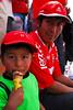 César Espejo Chávez & hijo Gonzalo en el Estadio Inca Garcilaso de la Vega - Wanchaq - Cusco - Perú