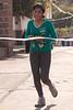 Llegada de la primera mujer en carrera de atletismo durante fiestas - Limatambo - Anta - Cusco - Perú<br /> <br /> Arrival of the first girl at local race during local festivities - Limatambo - Anta - Cusco - Peru<br /> <br /> Aankomst van de eerste dame van loopwedstrijd tijdens dorpsfeesten - Limatambo - Anta - Cusco - Peru<br /> <br /> Arrivée de la première dame lors d'une course à pied durant les fêtes municipales - Limatambo - Anta - Cusco - Pérou