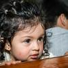 Mi ahijada Salma Rojas Dueñas poco antes de ser bautizada en la parroquia Santísima Trinidad de Mariscal Gamarra en Cusco