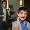 Tío Erick & primo Nicolas en la parroquia Santísima de Mariscal Gamarra en Cusco