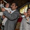 Ceremonia de las velas en la parroquia Santísima Trinidad de Mariscal Gamarra en Cusco