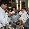Salma ya es bautizada en la parroquia Santísima Trinidad de Mariscal Gamarra en Cusco