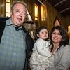 Con Salma y su mami Sandra Dueñas en la parroquia Santísima Trinidad de Mariscal Gamarra en Cusco