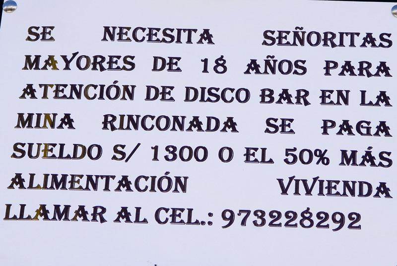 Oferta de empleo - Plaza de Armas - Calca - Valle Sagrado de los Incas - Cusco - Perú<br /> <br /> Job offer - Plaza de Armas - Calca - Valle Sagrado de los Incas - Cusco - Peru<br /> <br /> Werkaanbieding - Plaza de Armas - Calca - Valle Sagrado de los Incas - Cusco - Peru<br /> <br /> Offre d'emploi - Plaza de Armas - Calca - Valle Sagrado de los Incas - Cusco - Pérou