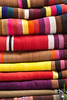 Mantas - Mercado de Abastos - Chinchero - Cusco - Perú<br /> <br /> Locally made rugs - Food Market - Chinchero - Cusco - Peru