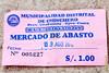 1 S/. ingreso al mercado - Mercado de Abastos - Chinchero - Cusco - Perú<br /> <br /> Damned, you have to pay to access a food market - Food Market - Chinchero - Cusco - Peru