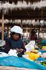 Sombrero impermeable - Mercado de Abastos - Chinchero - Cusco - Perú<br /> <br /> Waterproof hat - Food Market - Chinchero - Cusco - Peru