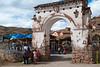 Puerta del mercado - Mercado de Abastos - Chinchero - Cusco - Perú<br /> <br /> Market gate - Food Market - Chinchero - Cusco - Peru
