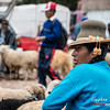 Vendedora de ovejas - Mercado dominical - Combapata - Canchis - Cusco - Peru