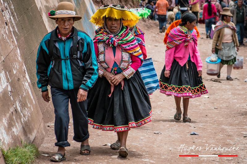 De compras - Mercado dominical - Combapata - Canchis - Cusco - Peru