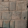 A part of the Inca wall at the corner of Pasaje 7 Culebras - Plaza de las Nazarenas - Cusco - Peru