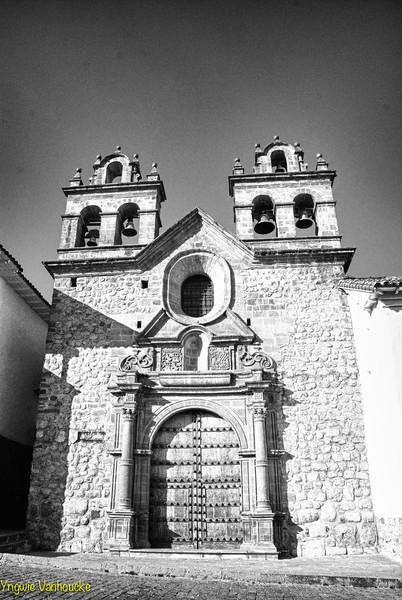 Capilla San Antonio Abad construida a partir de 1678 - Plaza de las Nazarenas - Cusco - Perú<br /> <br /> The San Antonio Abad chapel (1679 - 1699) - Plaza de las Nazarenas - Cusco - Peru<br /> <br /> De San Antonio Abad kapel waarvan de bouw aangevat werd in 1679 - Plaza de las Nazarenas - Cusco - Peru<br /> <br /> La chapelle de San Antonio Abad dont la construction a été commencée en 1679 - Plaza de las Nazarenas - Cusco - Pérou