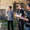 Alejandro Rojas Dueñas, Yngwie Vanhoucke & Luis Figueroa Lozano-Álvarez con el drone de Luis, el DGI Phantom 2 Vision + en la hacienda de la familia en Checacupe al sur de Cusco