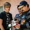 Yngwie Vanhoucke, Alejandro Rojas Dueñas & Luis Figueroa Lozano-Álvarez & el drone DGI Phantom 2 Vision + en la hacienda de la familia en Checacupe