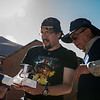 Alejandro Rojas Santander, Luis Figueroa Lozano-Álvarez & Sr. Lozano-Álvarez con el drone DGI Phantom 2 Vision Plus