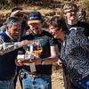 Don Alejandrino Lozano-Álvarez, Alejandro Rojas Santander, Luis Figueroa Lozano-Álvarez, Doña Lourdes Martorell & Yngwie Vanhoucke con el drone DGI Phantom 2 Vision Plus