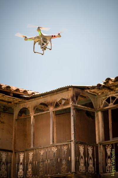 DGI Phantom 2 Vision Plus drone @ Hacienda en/in/à Checacupe