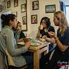 North American guests - Eusebio & Manolo Coffee Shop - C/. Carmen Alto 116 - San Blas - Cusco - Perú