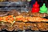 Plato de tres anticuchos en Yola - Av. Pardo (detras del correo) - Cusco - Perú<br /> <br /> Three skewers @ Yola - Av. Pardo (behind post office) - Cusco - Peru<br /> <br /> Drie brochettes bij Yola - Av. Pardo (achter postkantoor) - Cusco - Peru<br /> <br /> Brochettes chez Yola - Av. Pardo (derrière la poste) - Cusco - Pérou