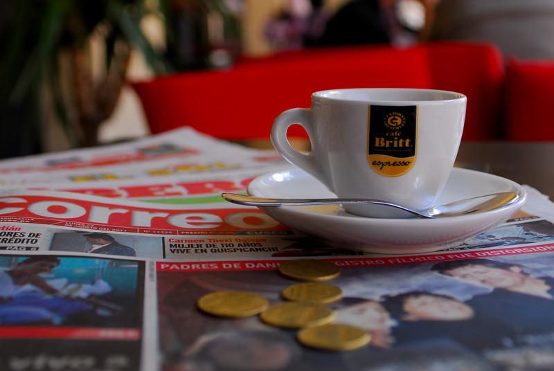 Espresso (5 S/.) - Tupananchis - Plaza Espinar - Cusco - Perú