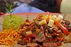 Saltado mixto con alpaca, res y pollo - El Huacatay - Valle Sagrado de los Incas - Urubamba - Cusco - Perú<br /> <br /> Sauteed with alpaca, beef and chicken meat, a classical dish in Peruvian cuisine - El Huacatay - Valle Sagrado de los Incas - Urubamba - Cusco - Peru<br /> <br /> Saltado van alpaca, rundvlees en kip, een klassieker binnen de Peruviaanse keuken - El Huacatay - Valle Sagrado de los Incas - Urubamba - Cusco - Peru<br /> <br /> Sauté de alpaca, boeuf et poulet, un classique de la cuisine péruvienne - El Huacatay - Valle Sagrado de los Incas - Urubamba - Cusco - Pérou