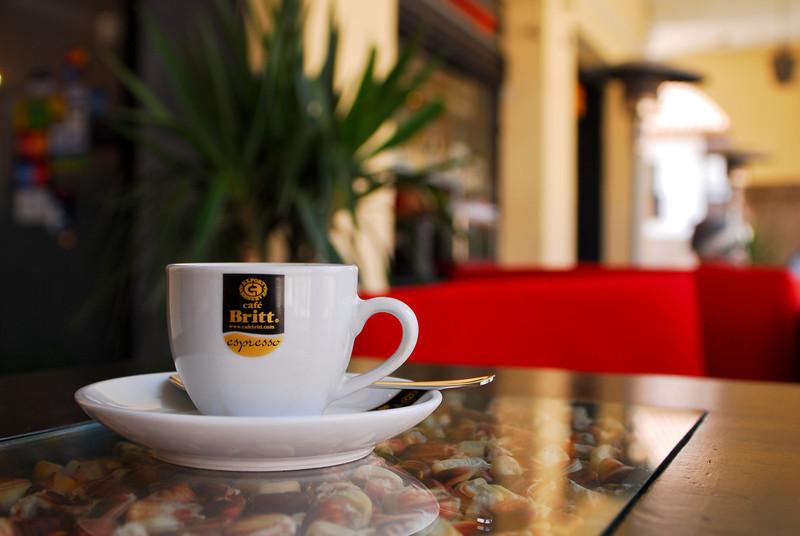 Café solo (5 S/.) - Tupananchis - Plaza Espinar - Cusco - Perú