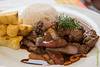 Lomo fino saltado al wok (31 S/.) - Tika Bistro Gourmet - C/. Tocuyeros - San Blas - Cusco<br /> <br /> Sautéed tenderloin (31 S/.) - Tika Bistro Gourmet - C/. Tocuyeros - San Blas - Cusco<br /> <br /> Lendestuk in de wok (31 S/.) - Tika Bistro Gourmet - C/. Tocuyeros - San Blas - Cusco<br /> <br /> Aloyau sauté au wok (31 S/.) - Tika Bistro Gourmet - C/. Tocuyeros - San Blas - Cusco