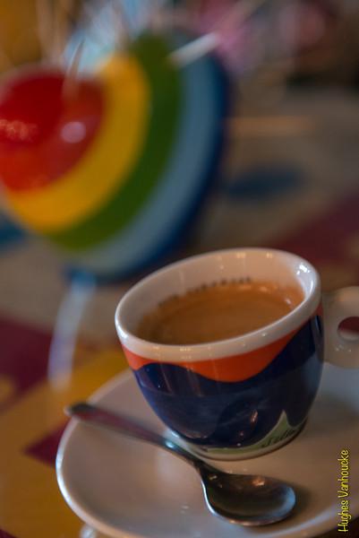 Café solo/Espresso - Café Concepto Macondo - Cuesta San Blas - San Blas - Cusco - Perú