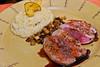 Deliciosa carne con risotto de quinua del otro mundo - El Huacatay - Valle Sagrado de los Incas - Urubamba - Cusco - Perú<br /> <br /> Delicious meat but it's the quinoa risotto that made my day - El Huacatay - Valle Sagrado de los Incas - Urubamba - Cusco - Peru<br /> <br /> Bovenaards de ganzenvoet risotto - El Huacatay - Valle Sagrado de los Incas - Urubamba - Cusco - Peru<br /> <br /> Le risotto de quinoa d'un autre monde - El Huacatay - Valle Sagrado de los Incas - Urubamba - Cusco - Pérou