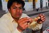 Mario es de buen diente - Huarocondo - Anta - Cusco - Perú<br /> <br /> Mario is a foodie - Huarocondo - Anta - Cusco - Peru<br /> <br /> Mario lust het wel - Huarocondo - Anta - Cusco - Peru<br /> <br /> Mario est un adepte de la gastronomie ... - Huarocondo - Anta - Cusco - Pérou