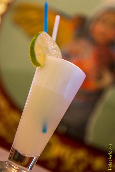 Pisco Sour (15 S/.) - Macondo Café Concepto - Cuesta San Blas 571 - San Blas - Cusco - Perú