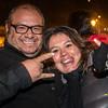 Celebrando el año nuevo en la Plaza de Armas - Cusco - Perú