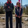 Cuyuni kids flying kites - Cuyuni - Quispicanchi - Cusco - Peru