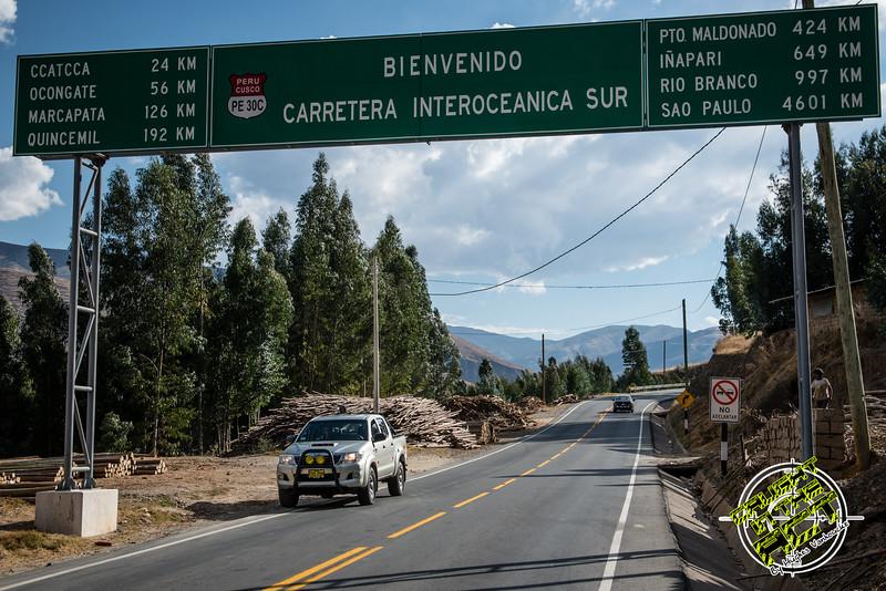 Off to Ocongate - 3S & PE 30C crossing - Quispicanchi - Cusco - Peru
