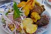 Plato típico de Saylla: chicharrón - Chicharronería Mi Sabrocito - Saylla - Cusco - Perú<br /> <br /> Tipical dish of Saylla: chicharrón - Chicharronería Mi Sabrocito - Saylla - Cusco - Peru<br /> <br /> Typisch gerecht van Saylla: chicharrón - Chicharronería Mi Sabrocito - Saylla - Cusco - Peru<br /> <br /> Plat typique de Saylla: chicharrón - Chicharronería Mi Sabrocito - Saylla - Cusco - Pérou