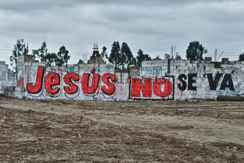 Grafitti - Chincha - Panamericana Sur - Ica - Perú/Peru/Pérou