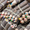 Artesanias: lapices de color