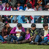 Público chumbivilcano & cusqueño - Takanakuy chumbivilcano - Campo Ferial - Huancaro - Cusco - Perú