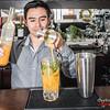 Bartender & cocktail wizard Yazmani preparing a maracuya sour @ Tocuyeros Boutique Hotel - San Blas - Cusco - Peru