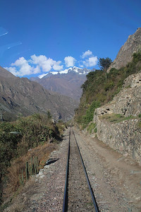 Between Ollyantantambo & Machu Pichu.