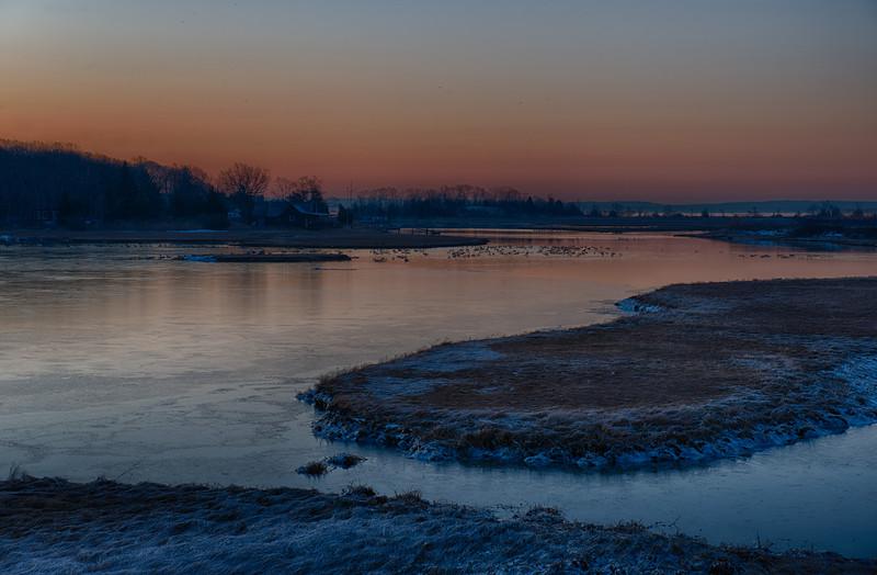 Dawn at Wickhams Creek